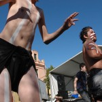 Young Aboriginal dancers, NAIDOC Celebrations 2014